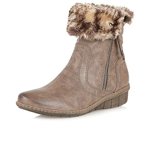 Lotus Virkat Womens Casual Ankle Boots Stone alNWv7Uw