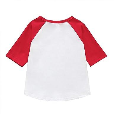 HCFKJ Ropa De Bebe Valentine Toddler Baby Boy Girl Letra tee Tops Camisetas NiñOs Ropa Casual: Amazon.es: Ropa y accesorios