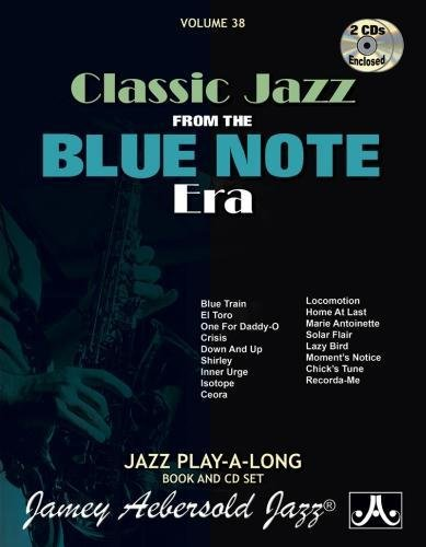 Vol. 38, Classic Songs from the Blue Note Jazz Era (Book & CD Set) (Jazz Play-A-Long for All Musicians)