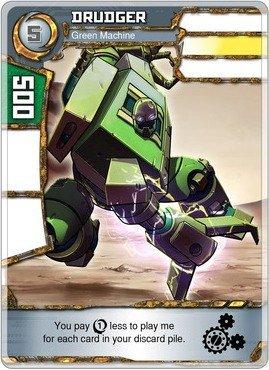 (Redakai - Drudger - Green Machine - Redakai Base Set)