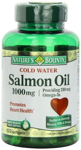 Nature's Bounty Salmon Oil, 120-Count, Health Care Stuffs