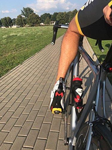 TriSeven Premium Nylon Triathlon Cycling Shoes   Lightweight, Unisex & Fiberglass Sole (37) by TriSeven (Image #4)
