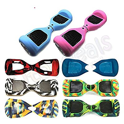 """Unishow Fashion Rubber Silicone Cover Case For 6.5"""" Self Balance Scooter Hoverboard - Randomly shipping!!"""