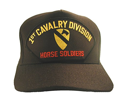Eagle Crest 1st Cavalry Division 'Horse Soldiers' with Patch Baseball Cap Hat ()