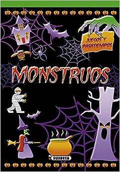 Book's Cover of Monstruos (Juegos y pasatiempos) (Español) Tapa blanda – 8 octubre 2020