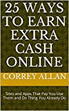 Who couldn't use a little extra cash from time-to-time or all the time. This book provides a list of 25 websites and apps that pay you for doing small thing you already do everyday, complete simple task, or provide cash back on things you buy. None o...