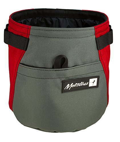 METOLIUS Dust Bin Chalk Bag Assorted Colors One Size (Metolius Bag Chalk)