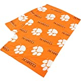 College Covers Clemson Tigers Pillowcase Only-Body Pillow, 20'' x 60'', Orange