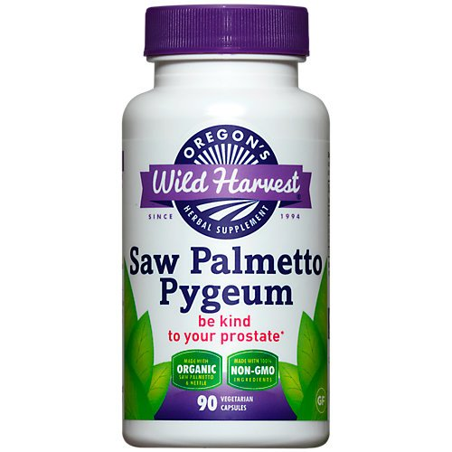 Oregons Wild Harvest, Saw Palmetto Pygeum, 90 Count