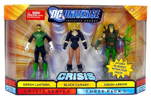 Mattel DC Universe Infinite Heroes Green lantern / Black Canary / Green Arrow
