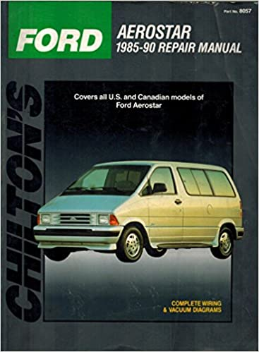 Ford Aerostar 1985 1990 Repair Manual: Chilton: Amazon.com: BooksAmazon.com