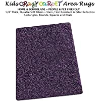 9x12 - Nobility ~ Kids Crazy Carpet Home & School Area Rugs | People & Pet Friendly – R2X Stain Resistance & Odor Reduction