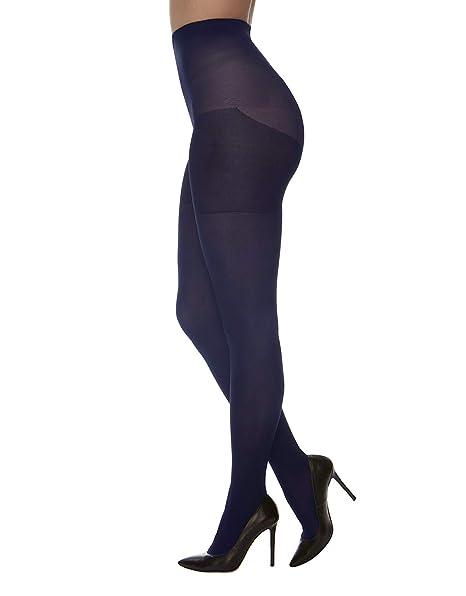 2fa9fa88e001 CALZITALY Collant Extra Large   Calze Opache Donna per Taglie Forti   Nero,  Naturale