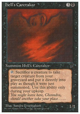 Price comparison product image Magic: the Gathering - Hell's Caretaker - Chronicles