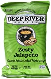 deep river kettle chips - Deep River Snacks Kettle Chips, Zesty Jalapeno, 24 Count