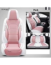 SUNQQJ Autostoelbekleding Autostoelafdekking voor Audi A1 A3 A4 A5 A6 A7 A8 A4L A6L Q2 Q3 Q5 Q7 A4 B8 A4 B6 A3 8P A4 B7 A6 C6 Alfa Romeo 159 Lada Granta Vesta Autostoelhoes Auto Accessoires.