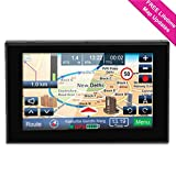 GPS Navigation for Car, 5 inch Lifetime Map Updates, Spoken Turn-by-Turn Vehicle GPS Navigator 8GB Navigation System with USB Cable and Car Charger & Back Bracket & Mount