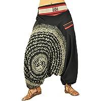 virblatt harén pantalones Aladdin pantalones unisex alternativa Clothing S-L–Nirvana
