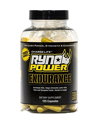 Ryno Power Hydration Fuel Pack Includes Hydration Fuel Powder, Endurance Supplements, and Sport Bottle