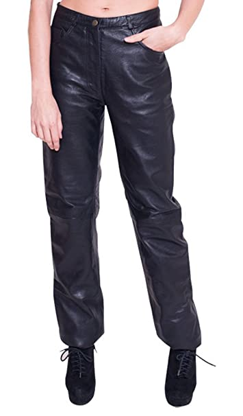 460a3d63fe46d NDK New York Women sLambskin Leather Pants -XXS Black  Amazon.ca ...