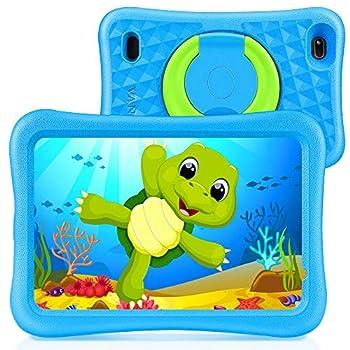 VANKYO MatrixPad S8 8 inch Children Pill, 2GB RAM, 32GB ROM, Kidoz Pre Put in, 8″ IPS HD Show, Android OS, WiFi Pill, Child-Proof, Twin Digicam, GPS, FM, Blue