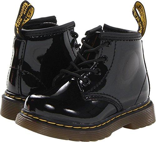 Dr. Martens Girls' Brooklee B-K, Black Patent 5 M UK/6 M US -