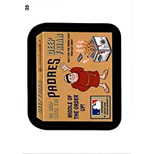 2016 Wacky Packages MLB #35 Padres Deep Friar