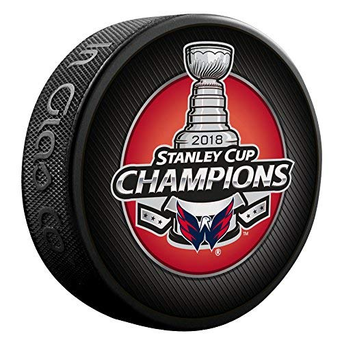 2018 Official Washington Capitals Stanley Cup Champions Champ Puck