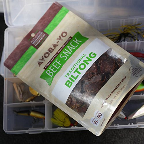 Grass Fed Authentic Biltong (All Natural Beef Snack) 3oz - Gluten Free - 0% Sugar - Soy Free