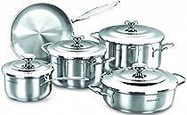Korkmaz Droppa 9 Piece Cookware Set