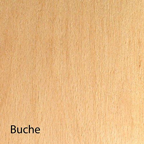 8mm Buchensperrholz Platte 21x30 cm B//BB Qualit/ät A4