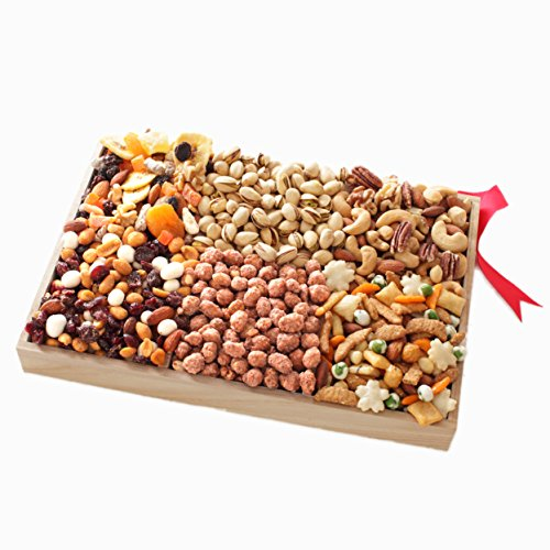 Valentines Day Chocolate & Nuts Gift Basket