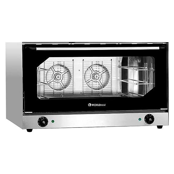 Horno industrial panadería 3 bandejas 60 x 40 - Maquinaria Bar ...