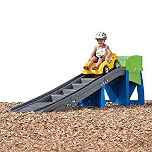 Step2 Extreme Roller Coaster for Kids - Durable Outdoor Children Ride On Car Coasters Tracks Playset