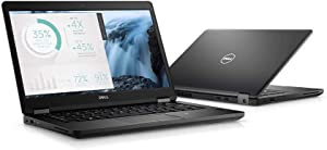 "Dell Latitude 5480 DYHJ1 Laptop (Windows 10 Pro, Intel Core i7-7600U, 14"" LED-Lit Screen, Storage: 256 GB, RAM: 8 GB) Black"