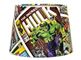 "Hulk Lampshade or Ceiling Light shade 10"" Marvel Avengers Comic Spiderman Thor Boys Kids Bedroom Accessories Superhero Action Heroes"
