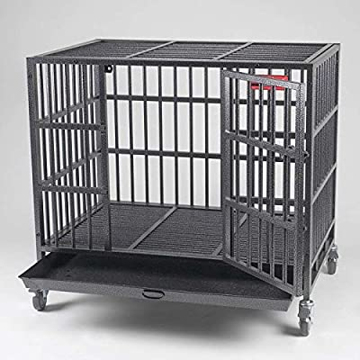 """ProSelect Empire Dog Cages - Small 37""""L x 25""""W x 333/4""""H"""