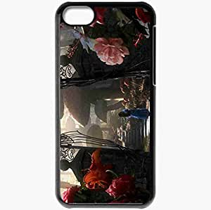 Personalized iPhone 5C Cell phone Case/Cover Skin A Alice in Wonderland 16821 Black by icecream design