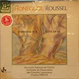 """Honeger: Symphonie No. 4 """"Delicae Basilienses / Roussel: Suite En Fa, Op. 33 / Orchestre National de l'O. R. T. F. / Orchestra de Association des Concerts Lamoureux / Charles Münch, Conductor"""