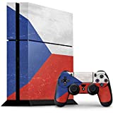 Countries of the World PS4 Console and Controller Bundle Skin - Czech Republic Flag Distressed | Skinit Lifestyle Skin