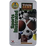 Sports Illustrated Trivia Game, Multi-Sport Edition, With 10 Bonus Kids Trivia Cards, Collectible Storage Tin