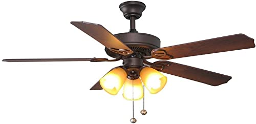 Hampton Bay Brookhurst 52″ Ceiling Fan 549742 Oil Rubbed Bronze