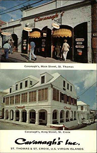(Cavanagh's Inc St. Thomas & St. Croix, U.S. Virgin Islands Original Vintage)