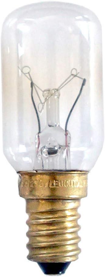 Leuci Gl/ühbirne R/öhre T25x70 15W E14 230V K/ühlschrank 15 Watt Dunstabzugshaube warmwei/ß dimmbar 1 St/ück