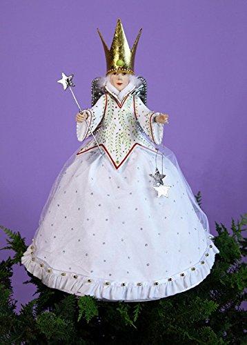 Patience Brewster Krinkles Star Fairy Tree Topper New 2014