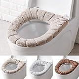 cushioned toilet seats sanitary WXLAA Bathroom Toilet Seat Cushion Closestool Washable Soft Warmer Mat Cover