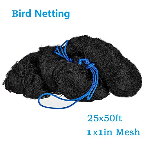 boknight 25' X 50' Net Netting for Bird Poultry Aviary Game Pens New 1