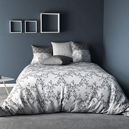 C Design - Juego de funda nórdica (220 x 240 cm, 100% algodón de ...