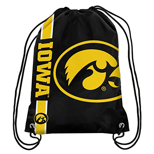 (Iowa Big Logo Drawstring Backpack)