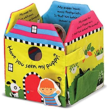 Melissa & Doug Soft Activity Baby Book - Have You Seen My Puppy?